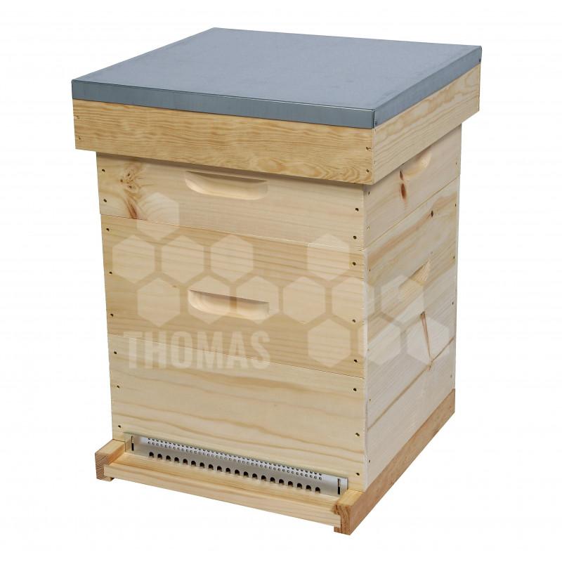 ruche compl te voirnot 10 cadres acheter une ruche. Black Bedroom Furniture Sets. Home Design Ideas