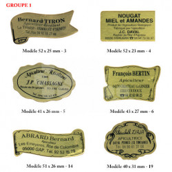 Étiquettes autocollantes personnalisées
