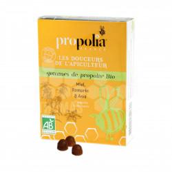 PROPOLIA - GOMMES DE PROPOLIS BIO MIEL-ANIS-ROMARIN (45 g)