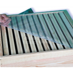 PLATEAU COUVRE CADRES PVC DADANT 10 CADRES (430 x 500 mm)