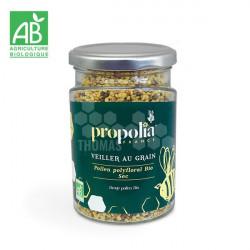 PROPOLIA - POLLEN BIO POLYFLORAL SEC (Pot de 200 gr)