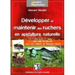 LIVRE - DEV & MAINT RUCHERS EN API NATURELLE (Nicollet)