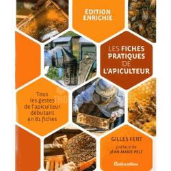 LIVRE - LES FICHES PRATIQUES DE L'APICULTEUR (gilles Fert - Rustica)