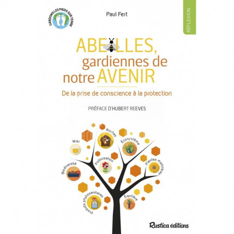 LIVRE - ABEILLES GARDIENNES DE NOTRE AVENIR (P. Fert - Rustica)
