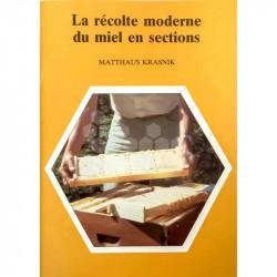 LIVRE - LA RECOLTE MODERNE DU MIEL EN SECTION (KRASNIK)
