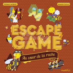 LIVRE - ESCAPE GAME - AU COEUR DE LA RUCHE (Jacquet)
