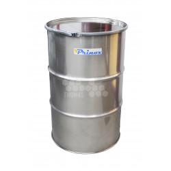 PRINOX FUT + COUVERCLE INOX 304L EP 8/10 mm - COLLIER GALVA