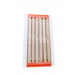 KIT PAR 2 PVC TRANSP RUCH TOP PRO DDT LGTH 6C (RR1260/1261)
