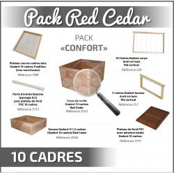 RED CEDAR : PACK CONFORT DDT 10 SANS TOIT
