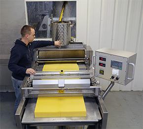 2014 - Nouvel atelier de gaufrage