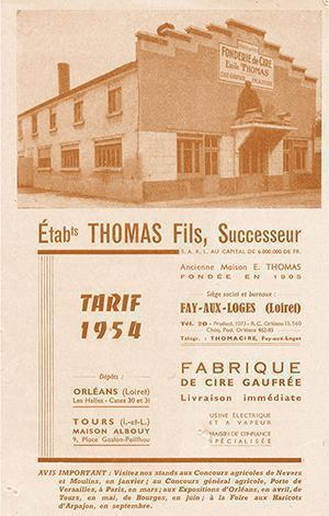 1953 - Etablissement Thomas fils